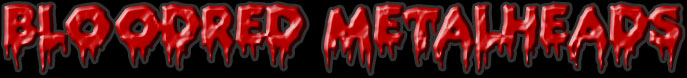 Bloodred Metalheads logo